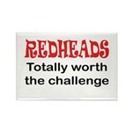 Redheads Rectangle Magnet (100 pack)