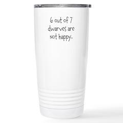 Happy Dwarves Travel Mug
