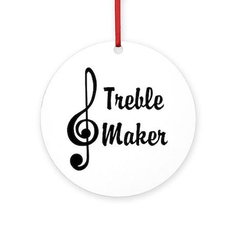 Treble Maker Ornament (Round)