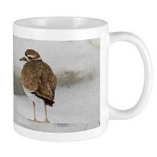 Killdeer in snow Mug