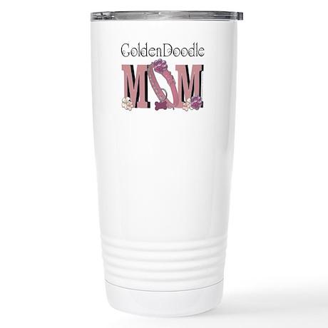 GoldenDoodle MOM Stainless Steel Travel Mug