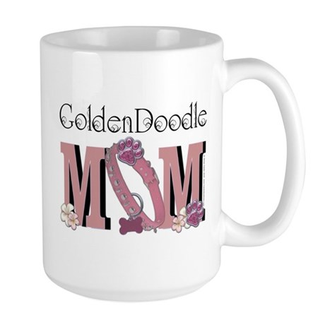 GoldenDoodle MOM Large Mug