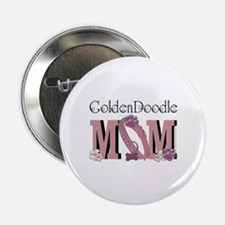 """GoldenDoodle MOM 2.25"""" Button"""