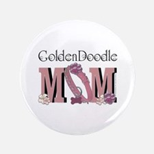 """GoldenDoodle MOM 3.5"""" Button"""