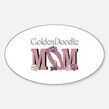 GoldenDoodle MOM Sticker (Oval)