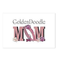 GoldenDoodle MOM Postcards (Package of 8)