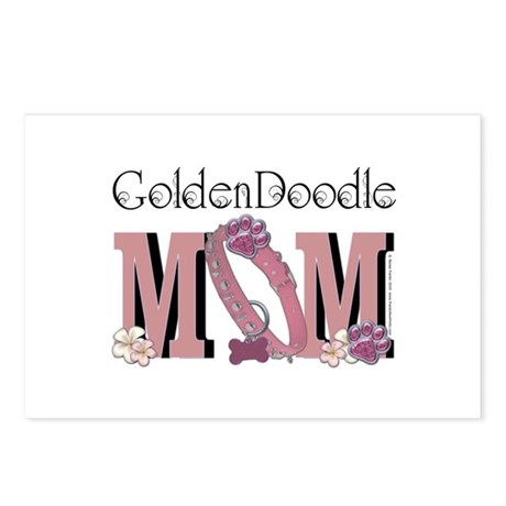 GoldenDoodle MOM Postcards (Package of 8)