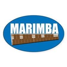 Marimba Decal