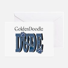 GoldenDoodle DUDE Greeting Card