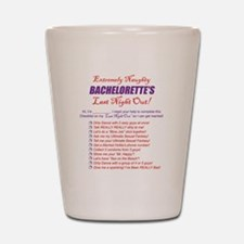 Bachelorette Party Checklist Shot Glass