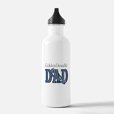 GoldenDoodle DAD Water Bottle