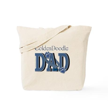 GoldenDoodle DAD Tote Bag