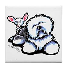 OES n' Ewe Cute Tile Coaster