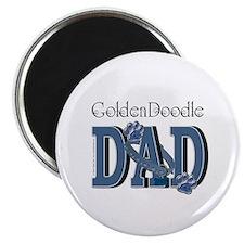 """GoldenDoodle DAD 2.25"""" Magnet (10 pack)"""