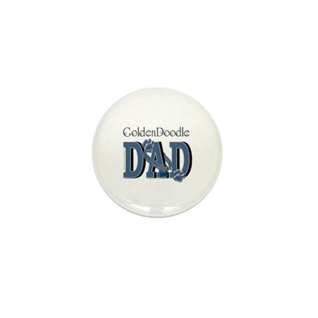 GoldenDoodle DAD Mini Button
