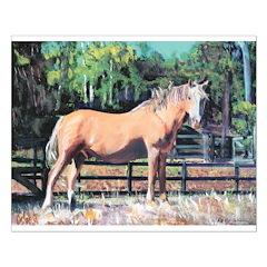 Palomino Horse by Riccoboni Posters
