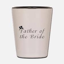Unique Father of the bride Shot Glass