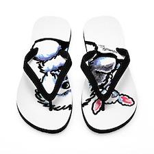 OES n' Ewe Cute Flip Flops