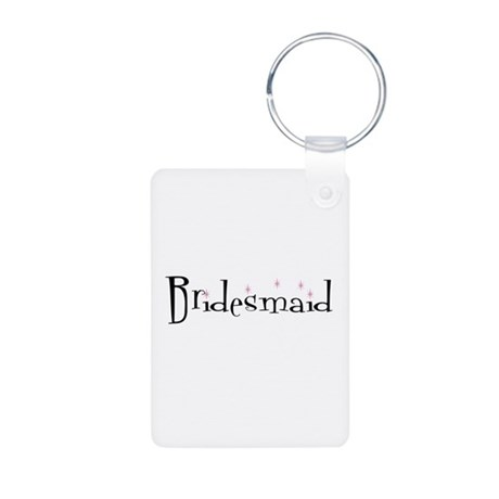 Bridesmaid Aluminum Photo Keychain