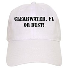 Clearwater or Bust! Baseball Cap