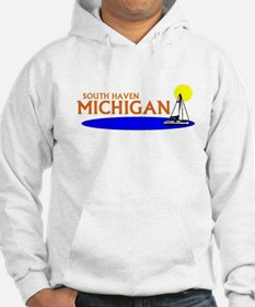 Funny South haven michigan lighthouse Hoodie
