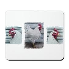Leghorn Chickens Mousepad