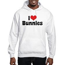 I Love Bunnies 2 Hoodie