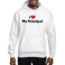I Love My Principal Hoodie