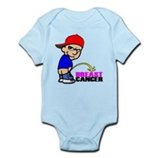 Take No Prisoners Breast Canc Infant Bodysuit