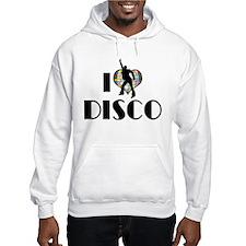 I Love Disco Hoodie