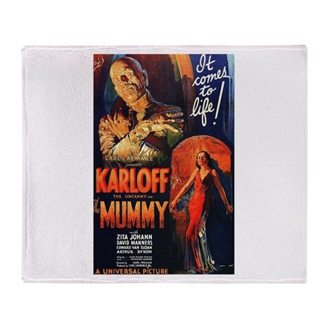 The Mummy Throw Blanket