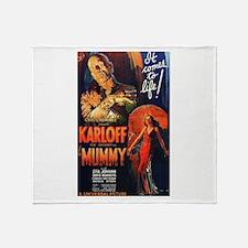 The Mummy Throw Blanket
