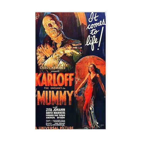 The Mummy Sticker (Rectangle)