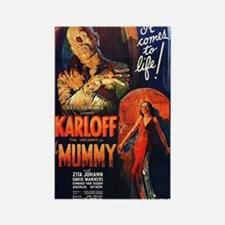 The Mummy Rectangle Magnet