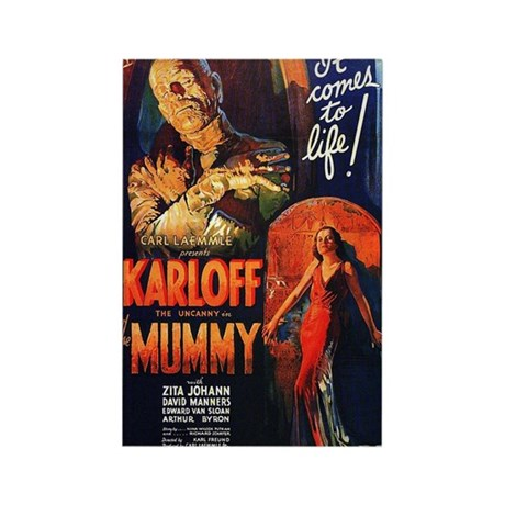 The Mummy Rectangle Magnet (10 pack)