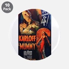 "The Mummy 3.5"" Button (10 pack)"