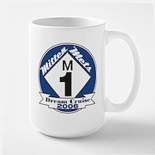 Mitten Mets Dream Cruise Large Mug
