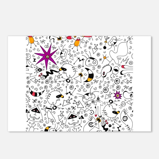 Inspired by Miro Postcards (Package of 8)
