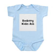 Rocketry Kicks Ass Infant Creeper