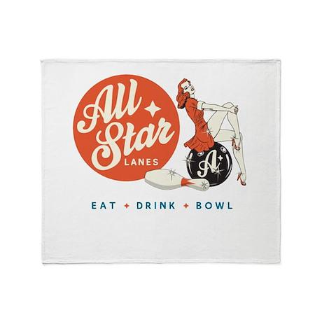 All Star Bowling Throw Blanket