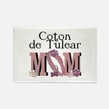 Coton de Tulear MOM Rectangle Magnet