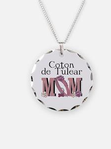 Coton de Tulear MOM Necklace