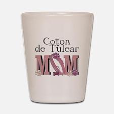 Coton de Tulear MOM Shot Glass