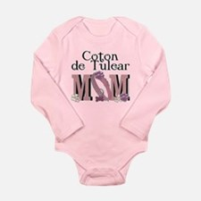 Coton de Tulear MOM Long Sleeve Infant Bodysuit