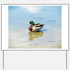 Wild ducks Yard Sign
