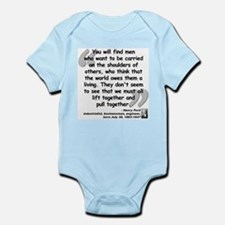 Ford Together Quote Infant Bodysuit