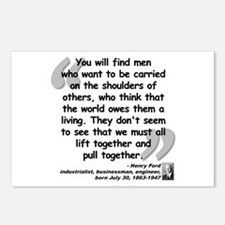Ford Together Quote Postcards (Package of 8)