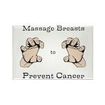 Prevent Cancer Rectangle Magnet (10 pack)