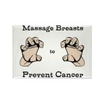 Prevent Cancer Rectangle Magnet