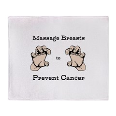 Prevent Cancer Throw Blanket